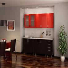 """Кухня """" Красная роза"""" 2,0 м."""