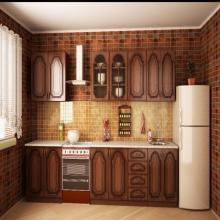 """Кухня """"Ольха"""" 2.0 м."""