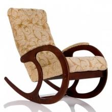 Кресло-качалка, модель 3 ткань цветы (013.003)