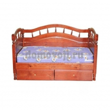 """Кровать """"Джулия"""" 3 спинки с ящиками"""