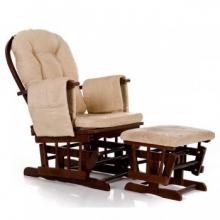 Кресло-качалка гляйдер Dondolo-5 с оттоманкой (013.010)