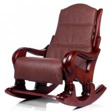 Кресло-качалка Классика махагон с подушкой (006.001)