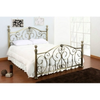 Кровать металлическая 602