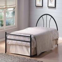 Кровать металлическая+дерево 233