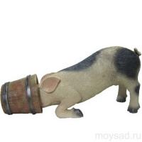 Свинка в кадке