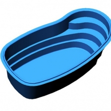 Декоративный бассейн 6500 синий