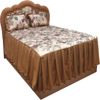 Кровать + покрывало