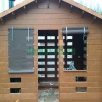 Защитная штора из материала BATYLINE