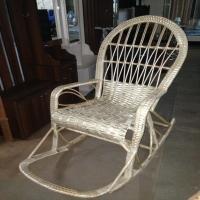 Кресло качалка с подножкой Лоза