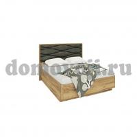 МК 52 (золотистый дуб) Изделие №234 кровать с подъемным механизмом волна, серая