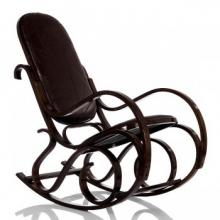 Кресло-качалка Формоза кожа, вариант 1 (014.0011)
