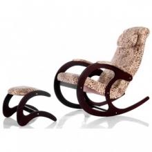 Кресло-качалка Блюз-2 (017.002) с банкеткой для ног Блюз-4