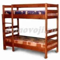 Кровать Двухъярусная прямая