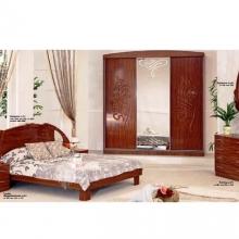 Спальный гарнитур СП-509 кальвадос глянец