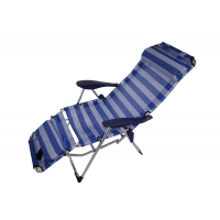 Кресло шезлонг складное с наклоном РС